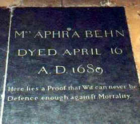 aphra behn research paper Aphra behn, oroonoko, or the that might be useful for final paper research sources: among other sources, behn's invention of orooonoko draws upon.